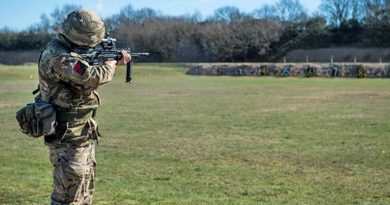 Soldiers take aim at the 16 Air Assault Brigade operational shooting competition
