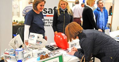 Among the organisations attending the Freshers' Fair were the Army Welfare Service, 35 Engr Regt, Army Library Services, The Royal British Legion and SSAFA