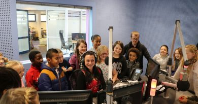 Haig pupils tuned in to BFBS