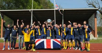Players from 1 PWRR end season on a high as they beat 26 Regt RA in the final – lifting the BA(G) football cup title