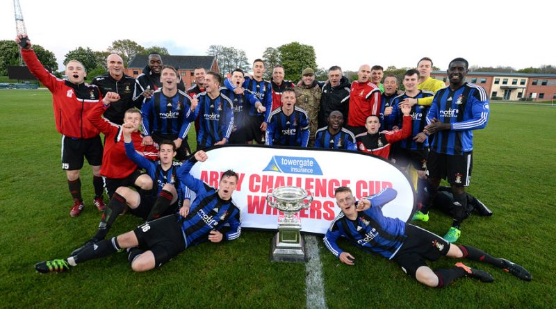 Yorkshire soldiers shoot their way to success in the Army Challenge Cup Final