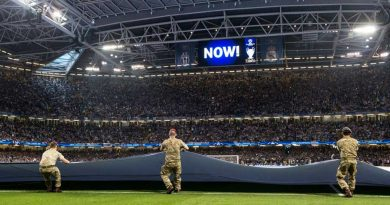 BFG-based sapper experiences Champions League final from on the pitch in front of capacity crowd at Cardiff's Principality Stadium