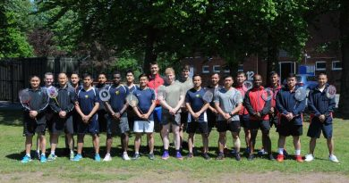 The BA(G) inter unit badminton championships were back and on Mansergh Barracks last week