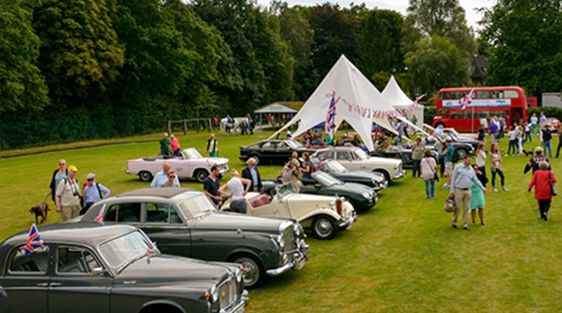 Classic cars are a popular attraction at the Hamburg show