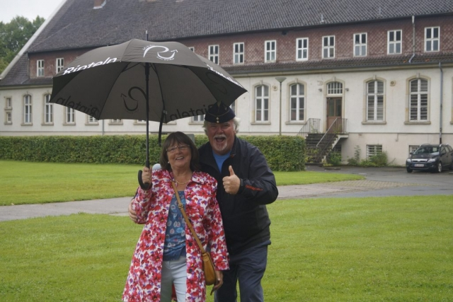 Ian Sketchley met his wife to be, Eileen, at BMH Rinteln, a place where many couples met and got together during its heyday