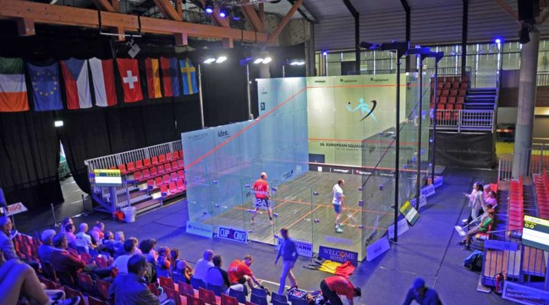 Paderborn hosted the European Squash Club Championships for the second time in the competition's history
